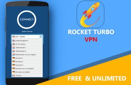 Rocket Turbo VPN- Handler VPN for PC