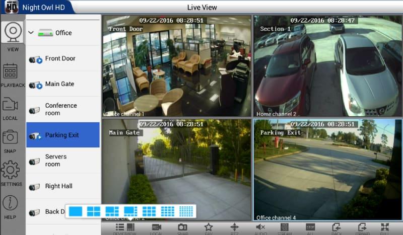 Night Owl HD App Using Bluestacks