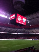 Watching the Canada Men's FIFA World Cup 2018 qualifying game