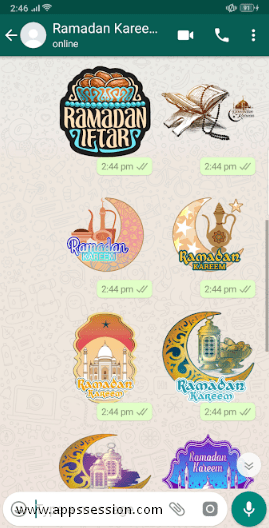 Ramadan Stickers For Whatsapp