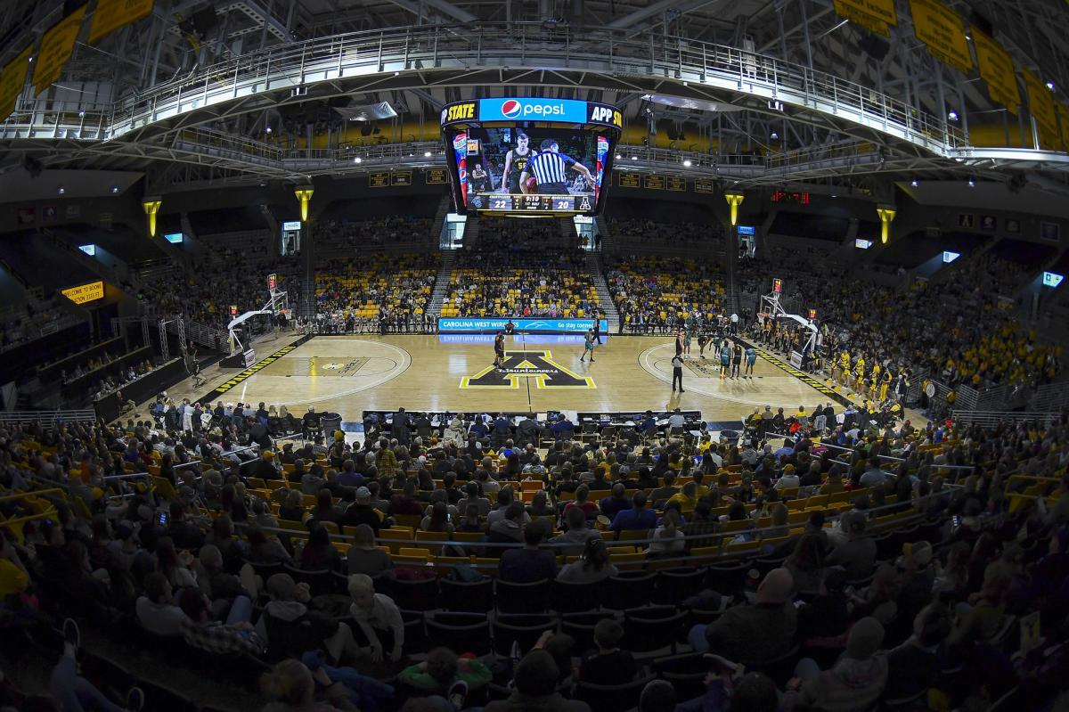Holmes Convocation Center - Facilities - App State Athletics
