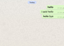 How to add Bold, Italics and Strikethroughs on WhatsApp