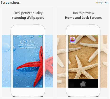 Wallpapers for iPhone and iPad