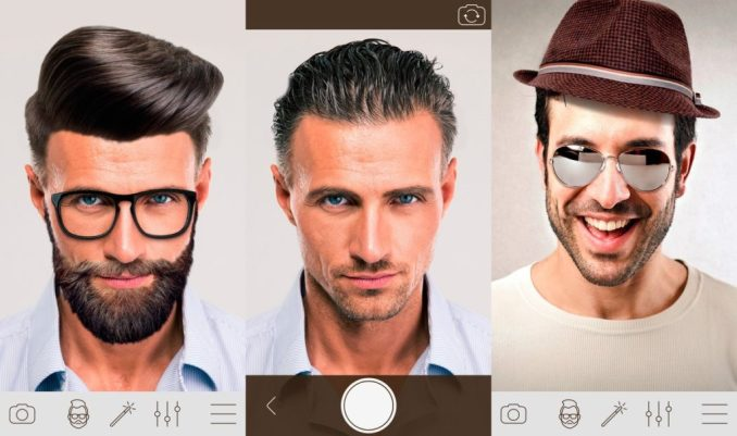 Hair Changer Photo Booth - Men Hair Style Photo Effect