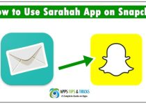 How to Use Sarahah App on Snapchat