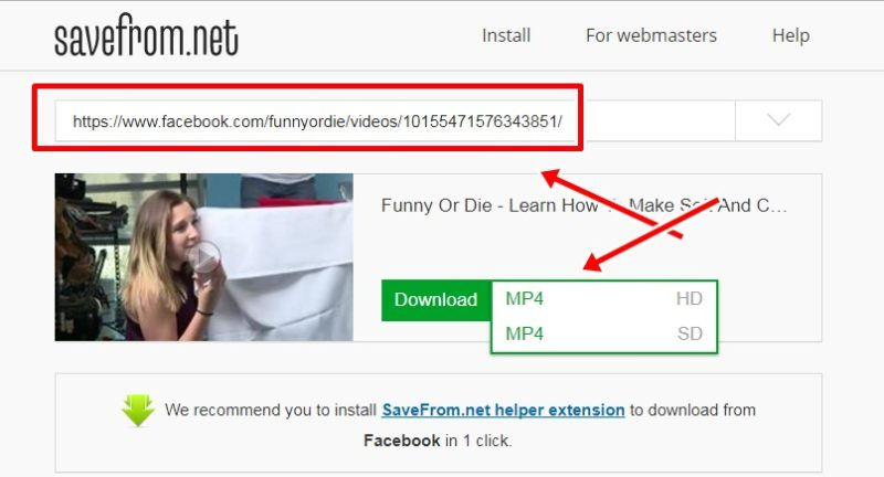 How to download facebook videos in pc in hindi
