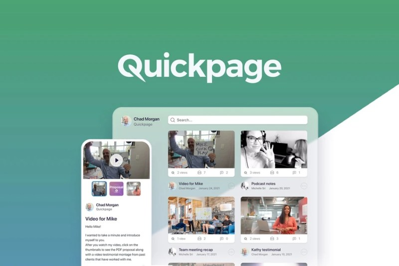Quickpage | Exclusive Offer from AppSumo