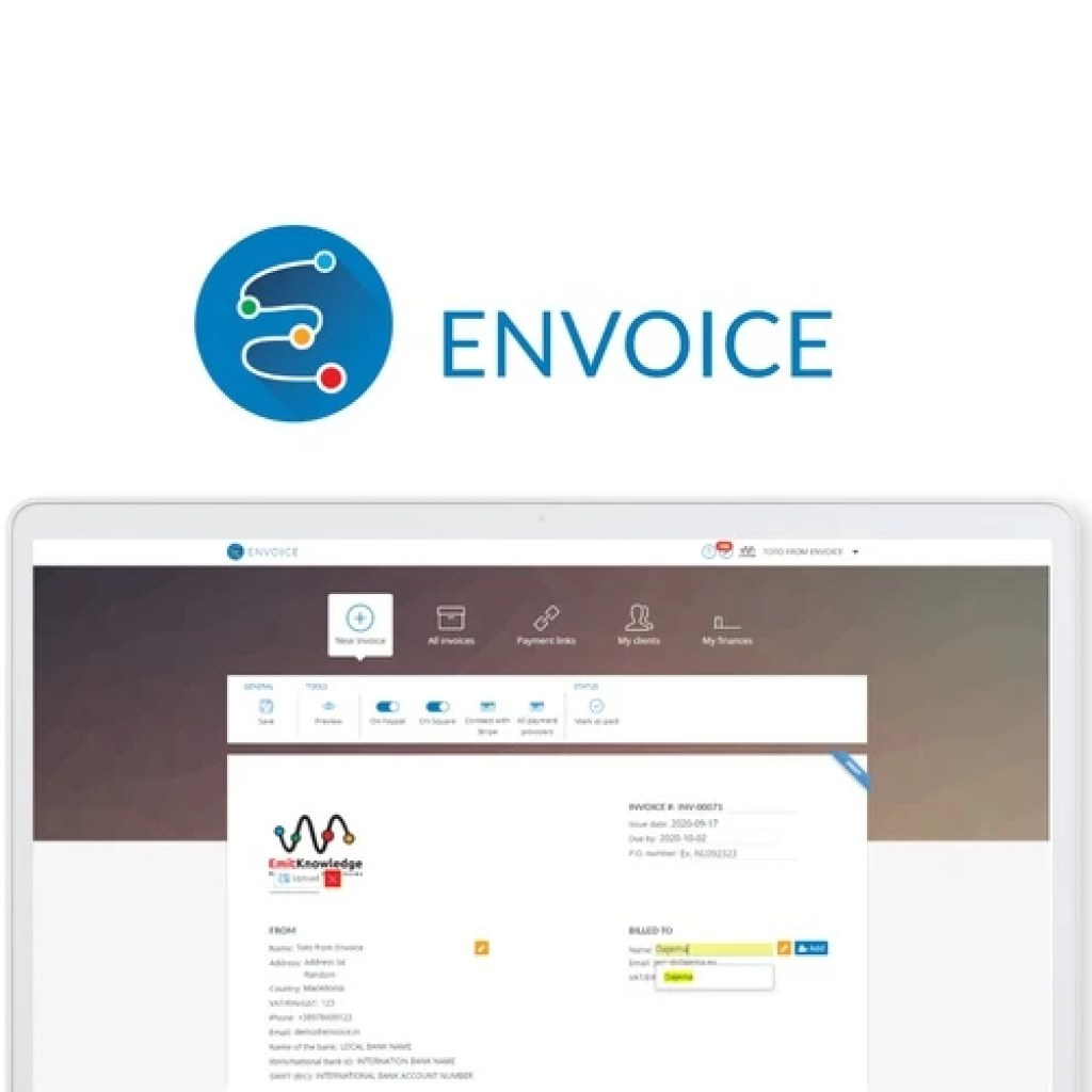 AppSumo Envoice image