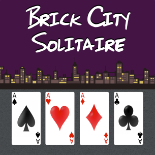 Brick City Solitaire Mac App icon.