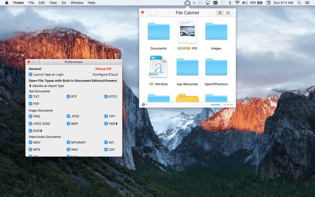 Quick Tutorial: How to Set Up File Cabinet Pro to Work with iCloud ...