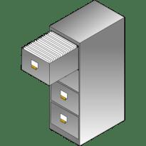 File Cabinet Pro Mac app icon 305 x 305 pixels.