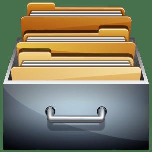File Cabinet Mac App Icon