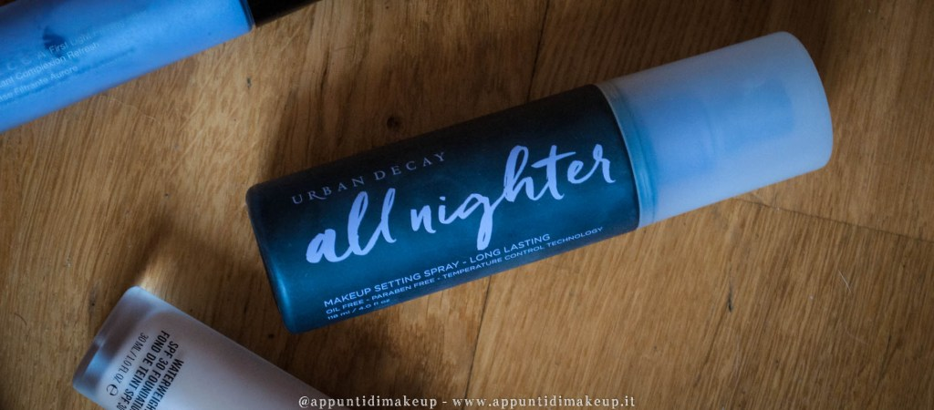 urban decay cosmetics all nighter spray fissante