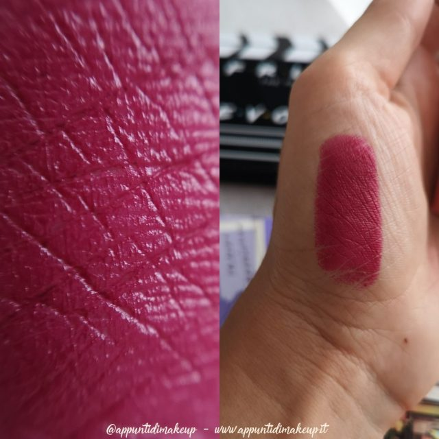 Friends x Revolution Beauty: Phoebe lipstick swatches