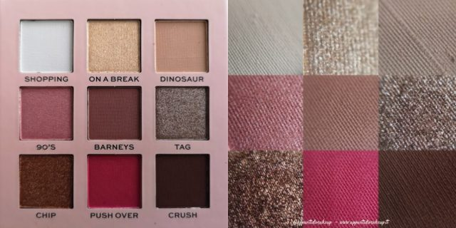 Friends x Revolution Beauty: Rachel eyeshadow palette