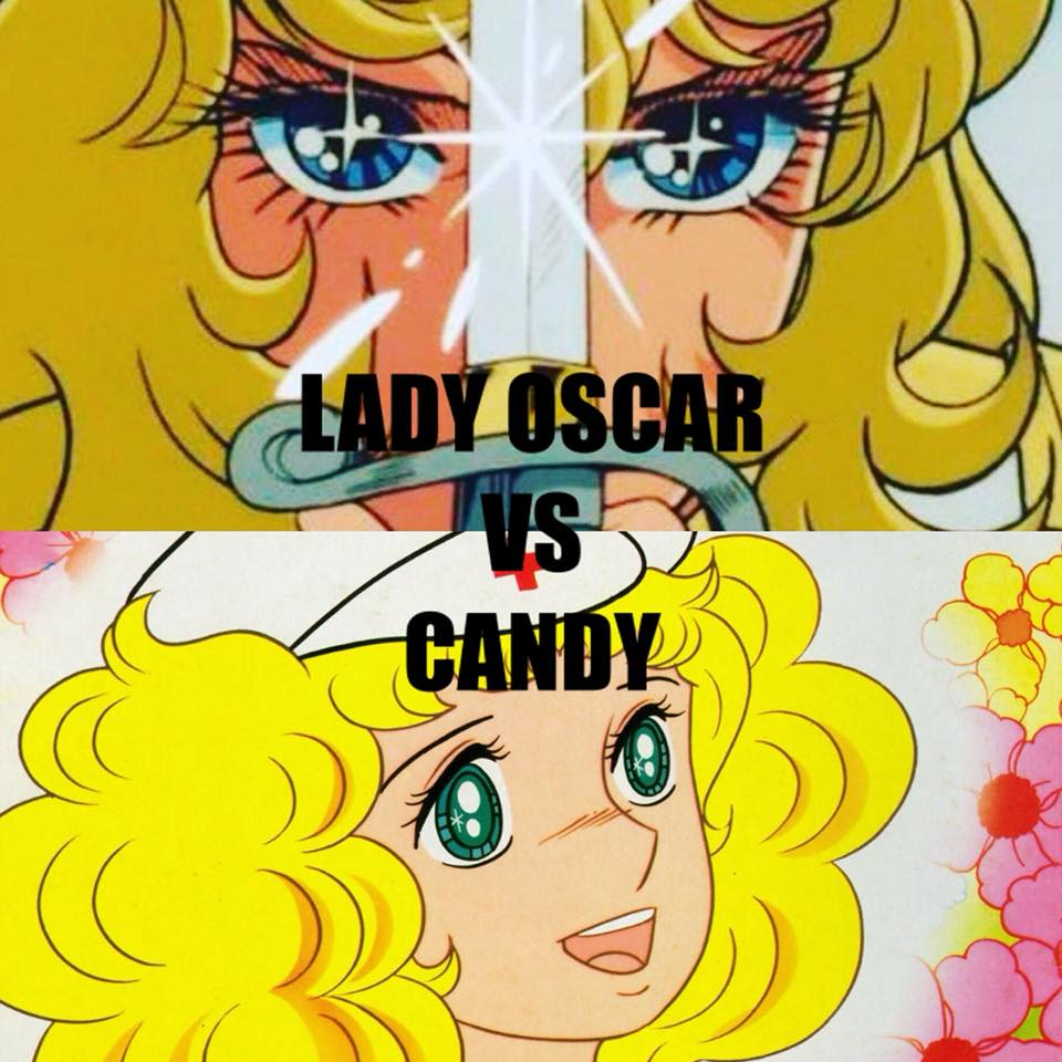 Lady Oscar VS Candy Candy