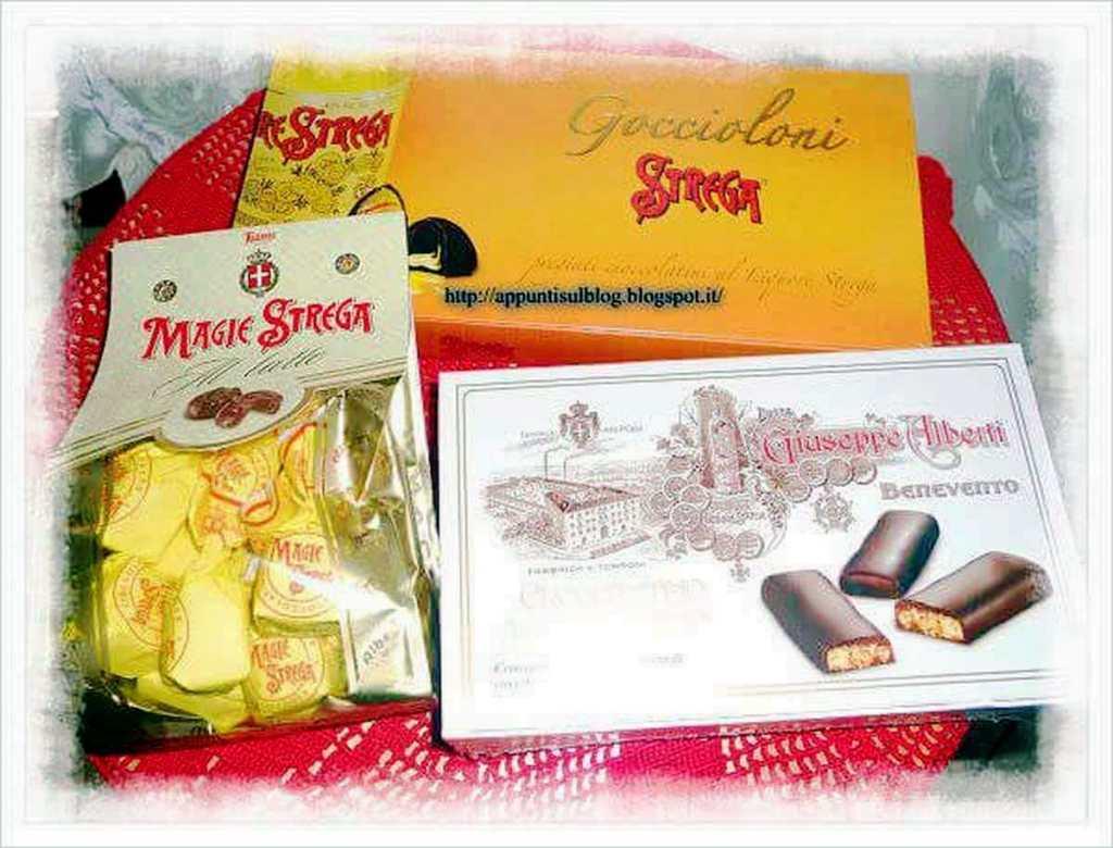Strega, da Benevento con cioccolato puro