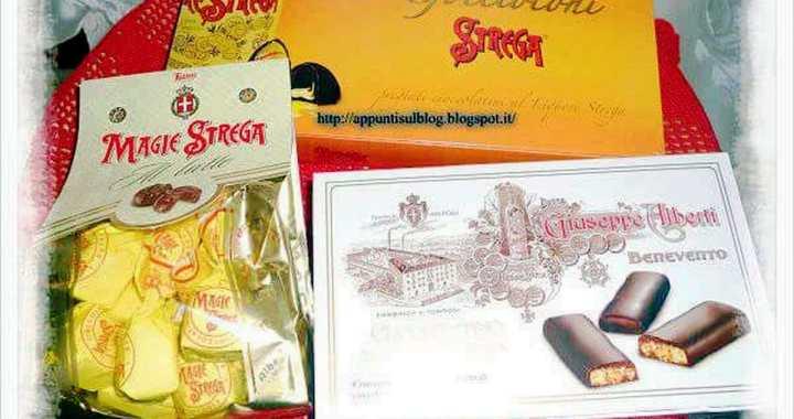 Strega da Benevento con cioccolato puro