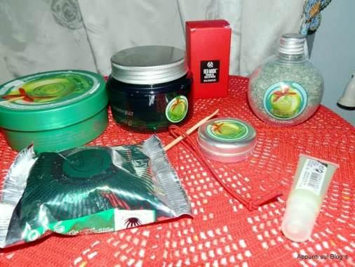 The body shop: idee regalo 2014, linea natalizia alla mela candita