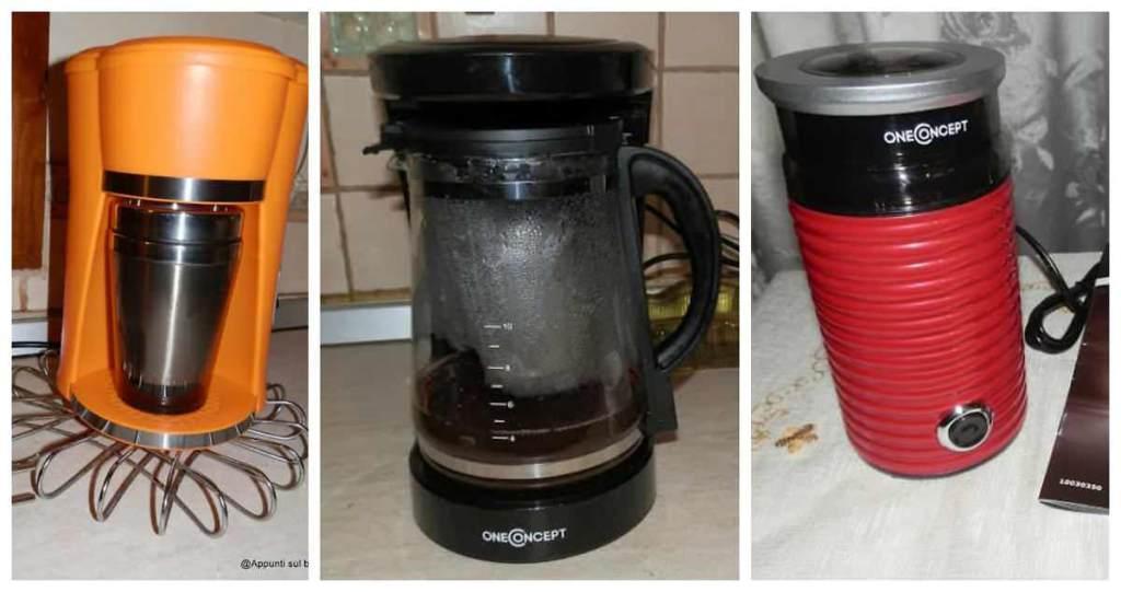 OneConcept: caffè americano, macina caffè e bevande squisite