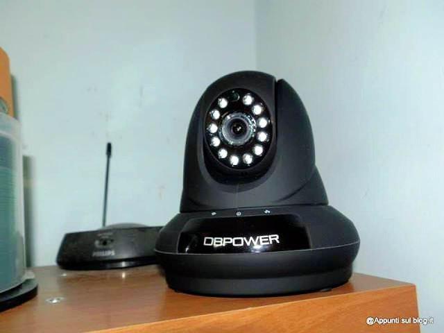 DbPower IP Camera dall'occhio vigile 1 articoli per la casa