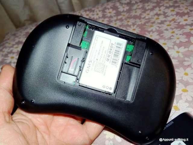 iClever® IC-RF02 Mini Tastiera QWERTY 2.4GHz multifunzione 2 articoli per la casa