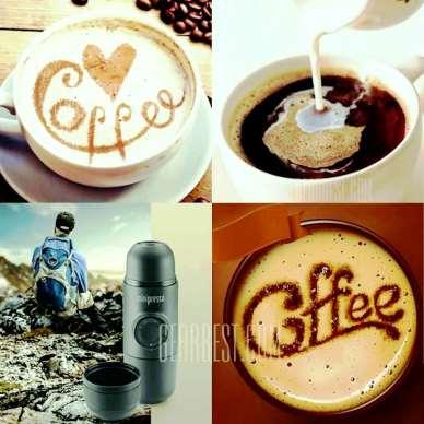 Minipresso Wakako per caffè espresso caldo ovunque
