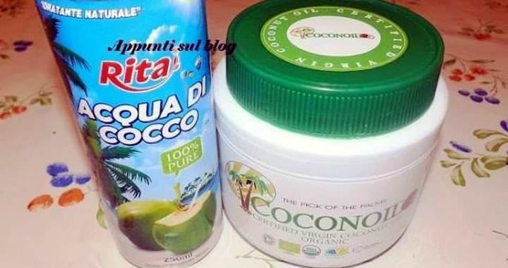 Coconoil, acqua e olio di cocco per salvaguardare la salute