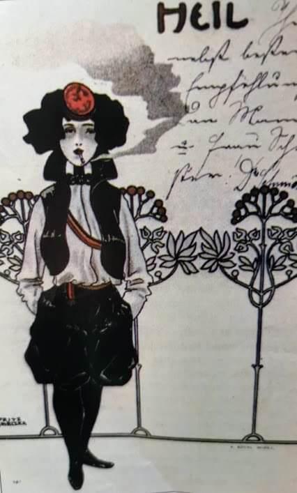 Cartoline vintage, donne e stili che cambiano 2 antonietta drago