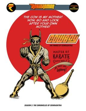 10 Sept.2016 Karate-cow