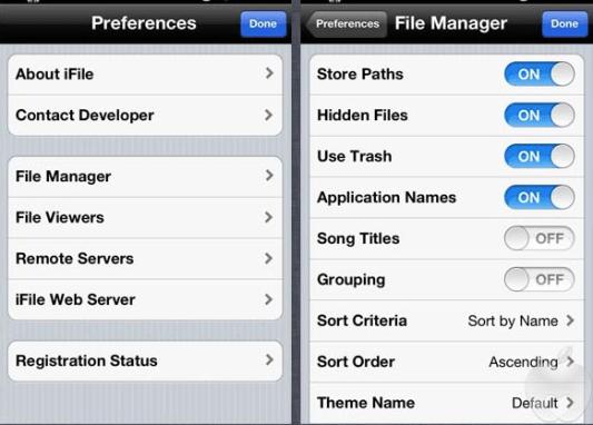 iFile iOS App Downloaded on iOS iPhone iPad