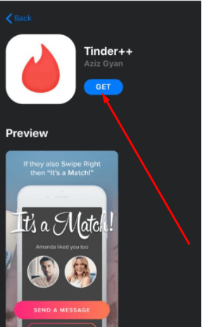 Install Tinder++ App on iPhone iPad
