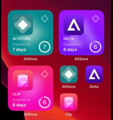 Delta Emulator Installed on iOS