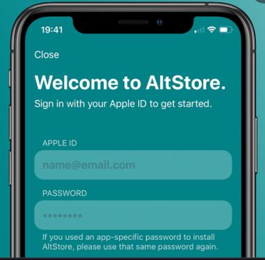 AltStore App - Delta Emulator