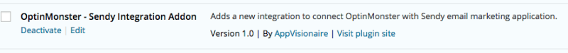 OptinMonster Sendy Integration