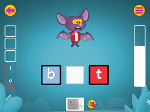 Educational App Spelling Game Screenshot