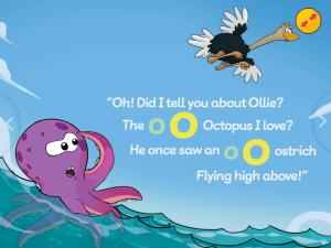 Educational App Ollie Octopus Screenshot