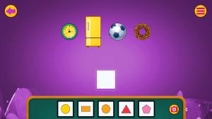 Educational App Shape Pattern game Screenshot