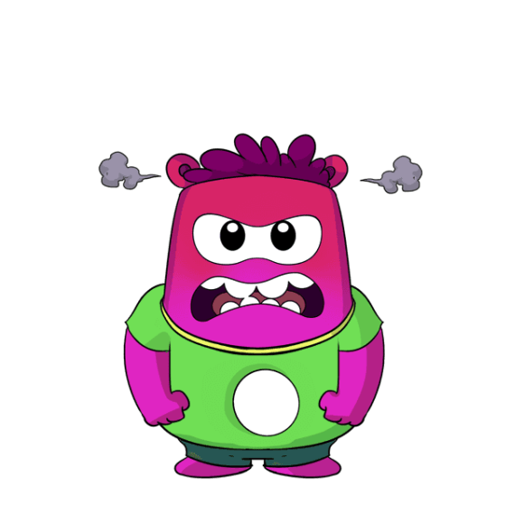 Appie Stickers Angry
