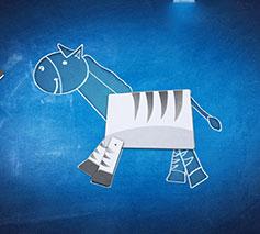 Blurb Alfies ABC Zebra