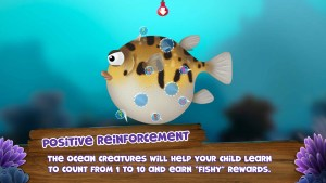 Screenshot Appy Oceans Hindi Puffer Fish