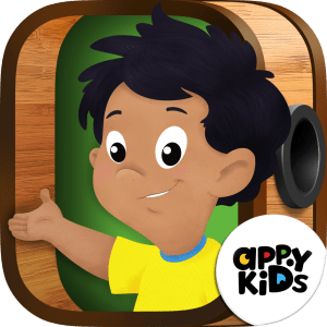 AppyKids Alfie Haathi and the Magic Bioscope App Icon