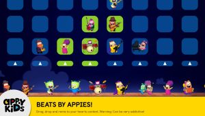 Preschool iPad app of Games for Kids ToyBox Beats by Appies