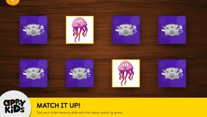 Preschool iPad app of Games for Kids ToyBox Match Game