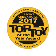 Award Creative Child To Toy of the Year Badge