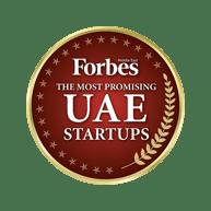 Award Forbes Promising Startup Badge