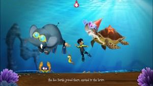 Screenshot Alfie Haathi Sea Turtle