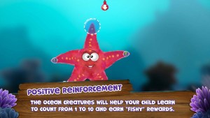 Screenshot Appy Oceans Arabic Starfish