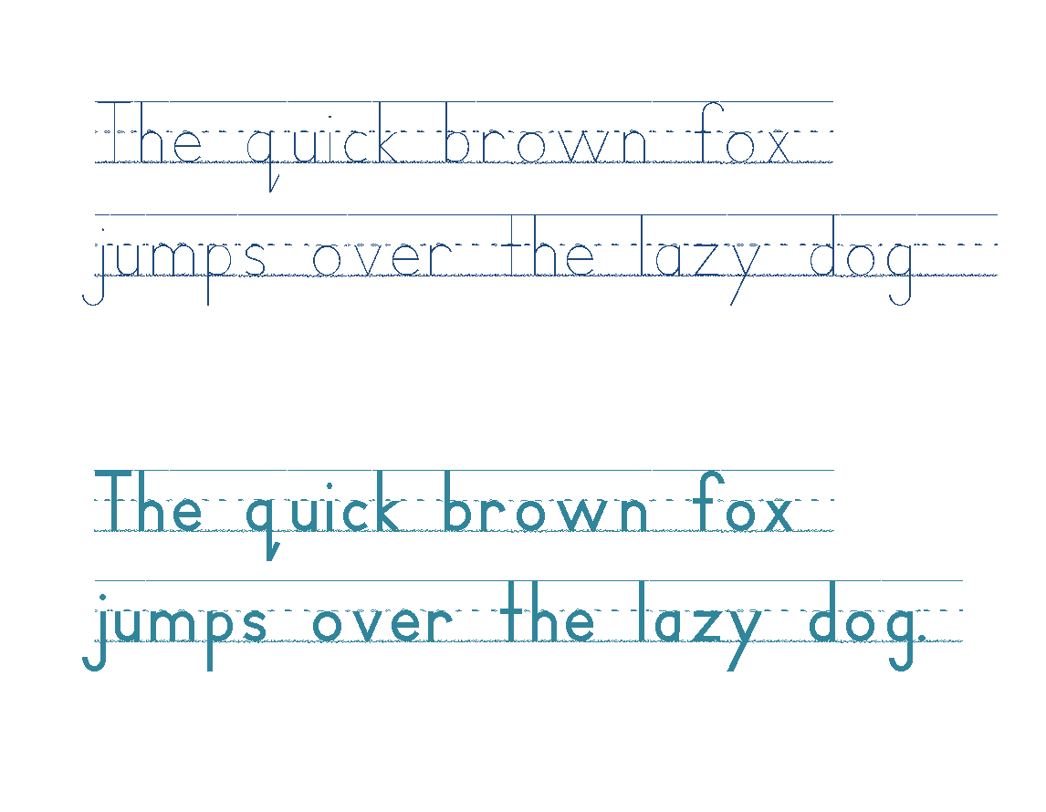 Handwriting Heroes Font