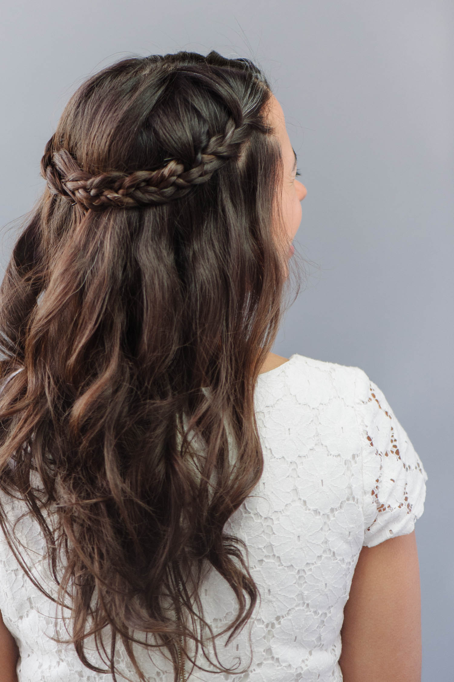 Best Half Up Half Down Wedding Hairstyles With Braids